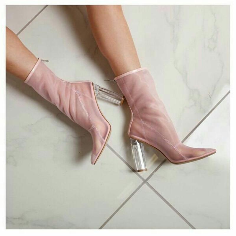 Pzilae Pzilae Pzilae Plus Size 44 Nuove donne di disegno sandalo stivali scarpe a   be17c6