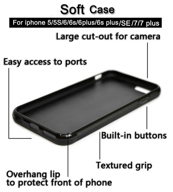 Dragon Ball Z Super Saiyan God Son Goku Phone Case Skin Shell For iPhone 6 6S 7 Plus 5 5S SE