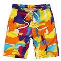 Casual Boys Quick Dry Shorts Summer Beach Shorts For Big Boys Shorts Brand Print Kids Boardshorts 8-16Y Children's Shorts SC201