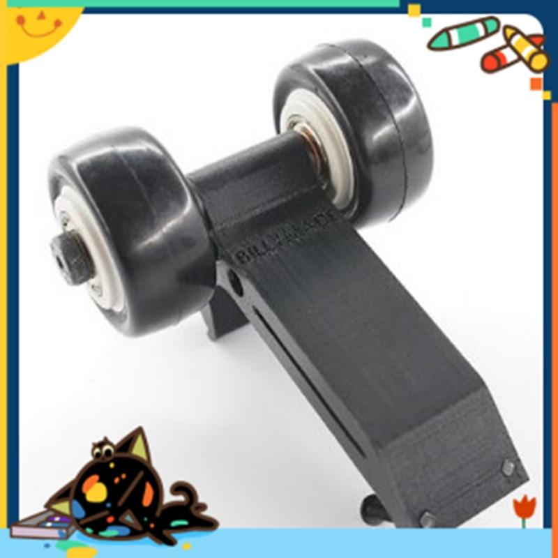 ФОТО Wheelie bar with 2 wheels rear wheel stand up for Traxxas TRX X-Maxx XMAXX 1/5 rc car part free shipping