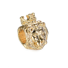 77381d683 free shipping gold The lion king of jungle big hole Bead Fits European  Pandora Charm Bracelets & Necklaces A009(2)