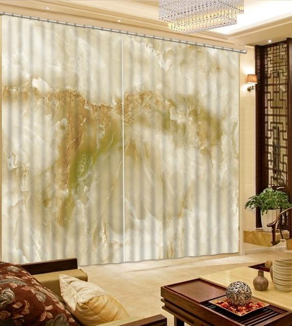 mooie gordijnen verduisterende gordijnen slaapkamer marmer patroon custom elke maat 3d gordijnen