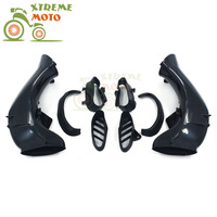 Motorcycle Air Intake Tube Duct Cover Fairing For YAMAHA R1 2004 2006 2004 2005 2006 04 05 06 Supermoto