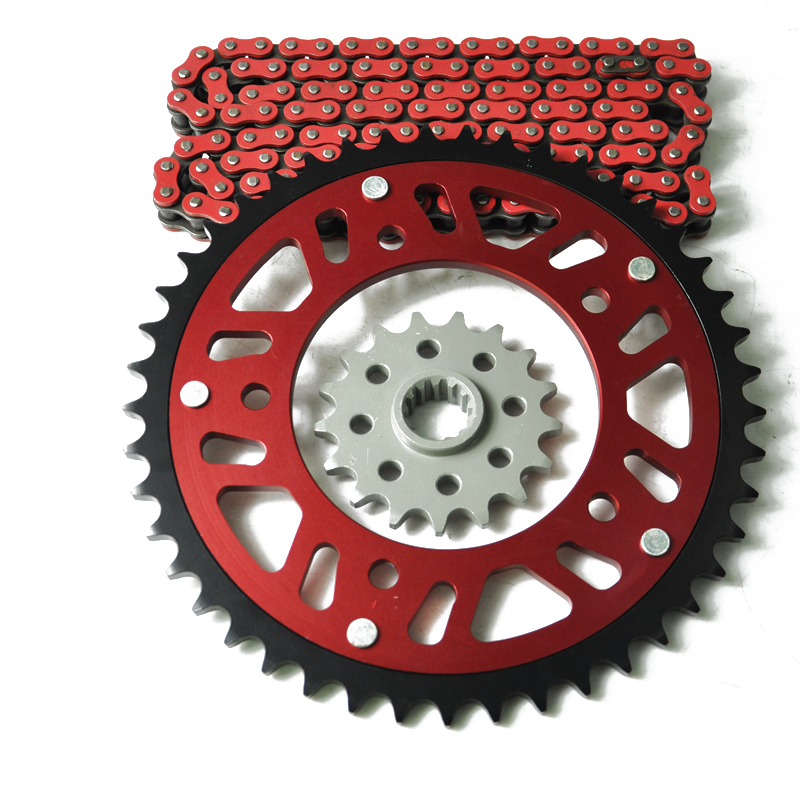 LOPOR Motorcycle Complete 525 Chain Set Front & Rear Sprocket For HONDA CBF500 PC39 CBF500 ABS PC39 2004 2005 2006 2007 2008 кошелек furla furla fu003bwaagd5