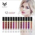 12 Color Lipgloss Beauty Makeup Liquid Lipstick Beauty Batom Maquiagem HUAMIANLI Long lasting Make up Batons Rouge A Levre