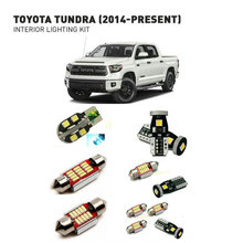 цена на Led interior lights For Toyota tundra 2014+  20pc Led Lights For Cars lighting kit automotive bulbs Canbus