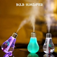 2017 Brand New Mini Colorful DC5V 400ml USB Night Light Bulb Humidifier Air Purifier Diffuser Atomizer
