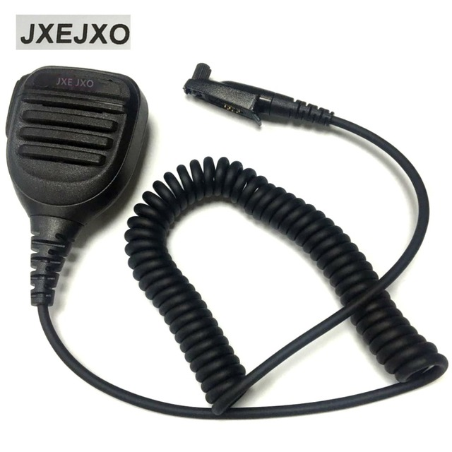 Police Radio Mic >> Jxejxo For Police Sheriff Remote Speaker Mic For Motorola Two Way