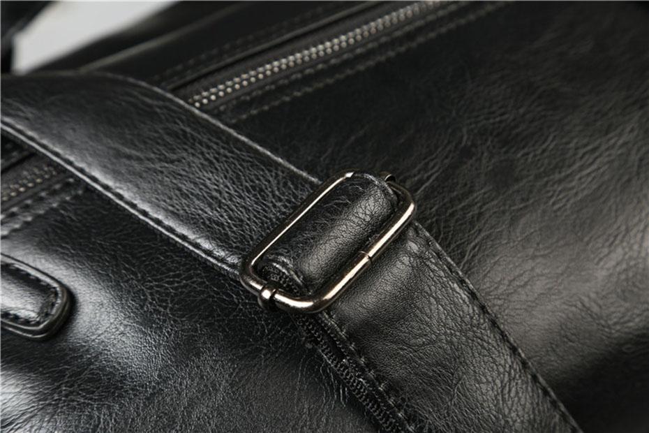 HTB1ZtZzX0fvK1RjSszhq6AcGFXah Men'S Briefcase Messenger Shoulder Bags Large Capacity Handbag Business High Quality Leather Computer Bags Laptop Multifunction