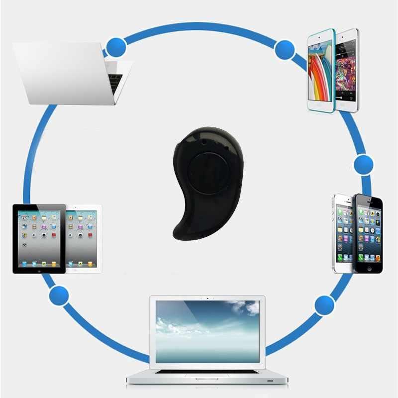 Słuchawki Bluetooth dla Huawei Honor 9 Lite 8X Max 10 V10 V9 grać uwaga 10 8C 7A 7X 7C 6C 6A 6X Mini wkładka douszna słuchawka bezprzewodowa 1 PC