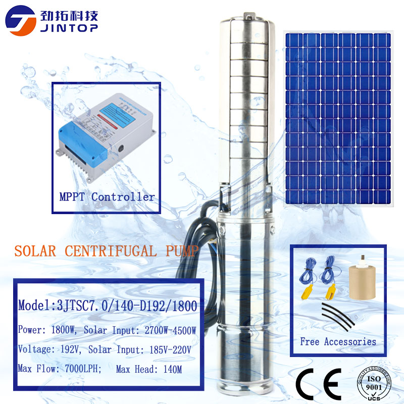 2X 1 set Pompe a eau solaire Kit de tableau de puissance Fontaine Piscine Ar A4