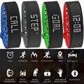 Nova gv18 relógio inteligente bluetooth pulseira smartband câmera remoto alarme vibratório relógio de pulso para iphone android # ed #