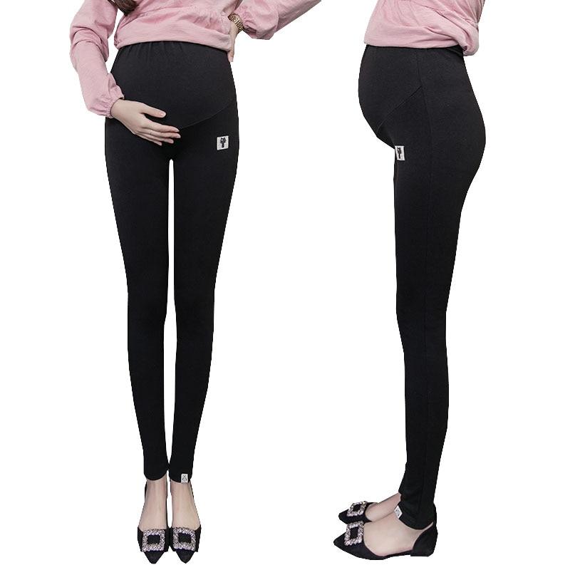 Plus La Taille De Velours Hiver Grossesse Leggings Pantalon Pour Les Femmes Enceintes De Maternité Leggings Chaud Vêtements Épaississement Pantalon Vêtements