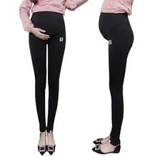 Plus Size Winter Velvet Pregnancy Leggings Pants For Pregnant Women Maternity Leggings Warm Clothes Thickening Trousers Clothing