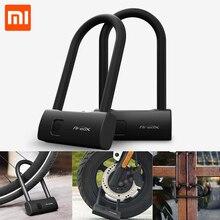 Xiaomi Mijia AreoX Intelligente Fingerprint U Lock U8 locker schiebetür Auto Motorrad Bike vorhängeschloss fenster Passwort Wasserdicht