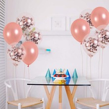8Season Bachelorette Party Balony Rose Gold Wedding Balloons Ballon Anniversaire Globos Baby Shower Home Decoration Accessories