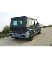 07 13 PU W463 W461 W Style Car Body Kit For Benz Body Kit Bumper For