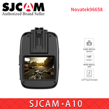 SJCAM A10 Portable Body Camera Wearable Infrared Security Camera IR-Cut Night Vision Laser Positioning Action Camera vs M20 CAM