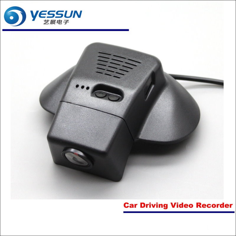 YESSUN Car DVR Driving Video Recorder For Volvo V40 Front Camera Black Box Dash Cam Head Up Plug OEM 1080P WIFI APP Song IMX323 liislee for volvo s60 2012 2013 car black box wifi dvr dash camera driving video recorder novatek 96655 fhd 1080p