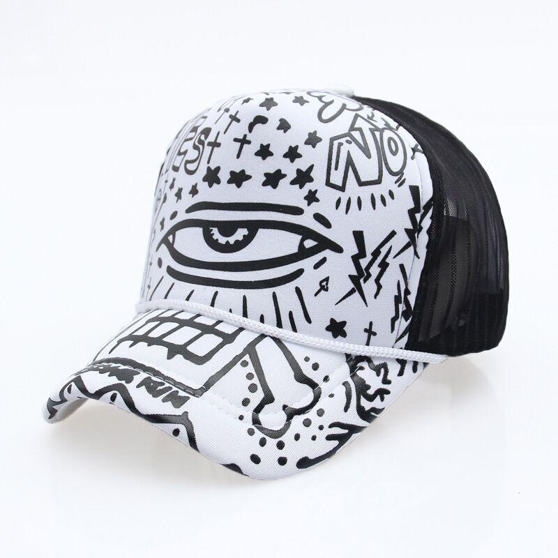 black trucker hat QQ20170809205959