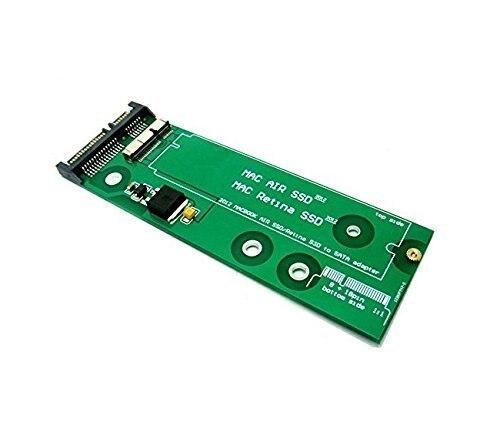 7 + 17Pin к SATA Адаптер Карт для SSD От 2012 MACBOOK PRO Retina A1398 A1425 MC975 MC976 MD976 + Air MD224 MD223 MD231 MD232