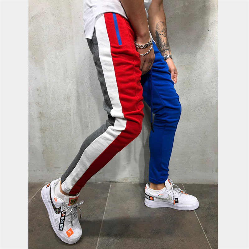2019 jogging pants men Gym Running Pants Men sportswear Training sport Pants Fitness Workout Jogging Quick Dry Sport Trousers
