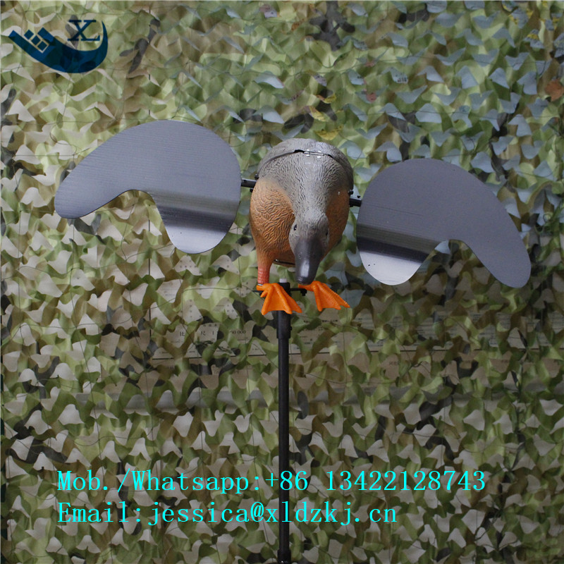 ФОТО Xilei Outdoors Duck Decoy Hunting Spinning Wings Motorized Duck Decoy