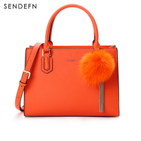 Sendefn Elegant Pendant Bags For Women Split Leather Crossbody Bags For Women Luxury Handbags Women Bags Designer 7167 68