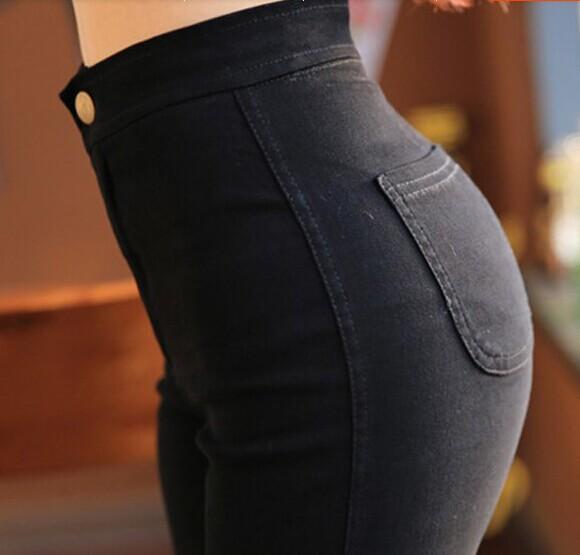 Skinny Pencil Pants