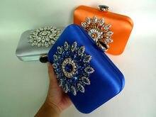 LaiSC Satin kupplung abendtaschen designer diamant frauen tasche Schöne Mädchen Messenger Fashion Party Handtasche Bankett pochette Tasche X56