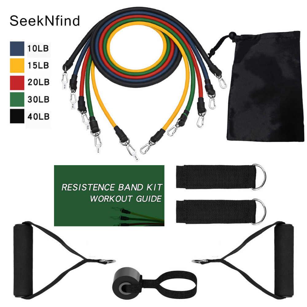 Fitness bandes de résistance de porte ancre CrossFit élastique
