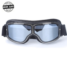 Motorcycle Ski Glasses Retro Motocross Riding Anti-UV Outdoor Sport Windproof Motorbike Protective Eyewears