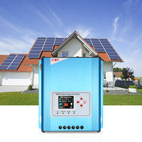 30A MPPT Solar Charge Controller 12V 24V 48V Battery Charging Regulator With LCD Display Overload Protection