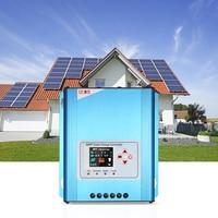 30A MPPT Solar Charge Controller 12V 24V 48V Battery Charging Regulator With LCD Display Overload Protection