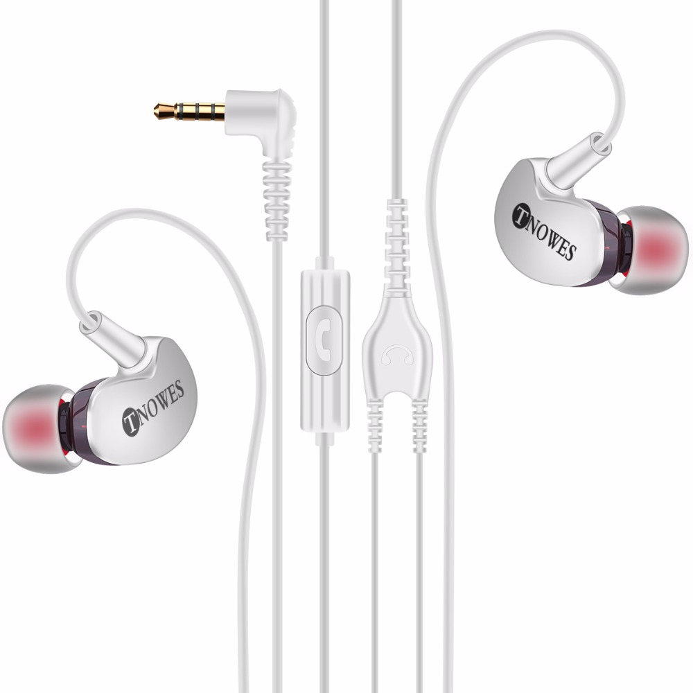 Fonge Original Sport Earphone Super Bass Headphones Sweatproof Running Headset With Mic Ear Hook For All Mobile Phone in Phone Earphones Headphones from Consumer Electronics