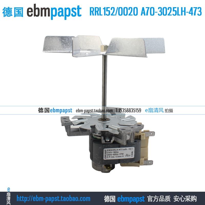 ebmpapst RRL1520020 RRL152 0020 AC 230V 37W Drying box shaded pole motor
