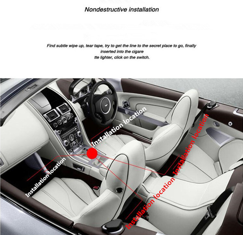 car styling car interior led decoration for opel mokka zafira b corsa d astra h g insignia. Black Bedroom Furniture Sets. Home Design Ideas
