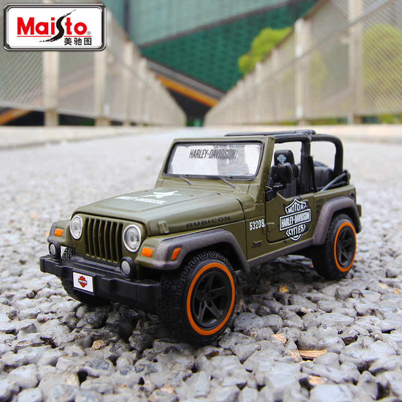 Brand New Very Cool 1/27 Scale Car Toys JEEP Rubicon SUV