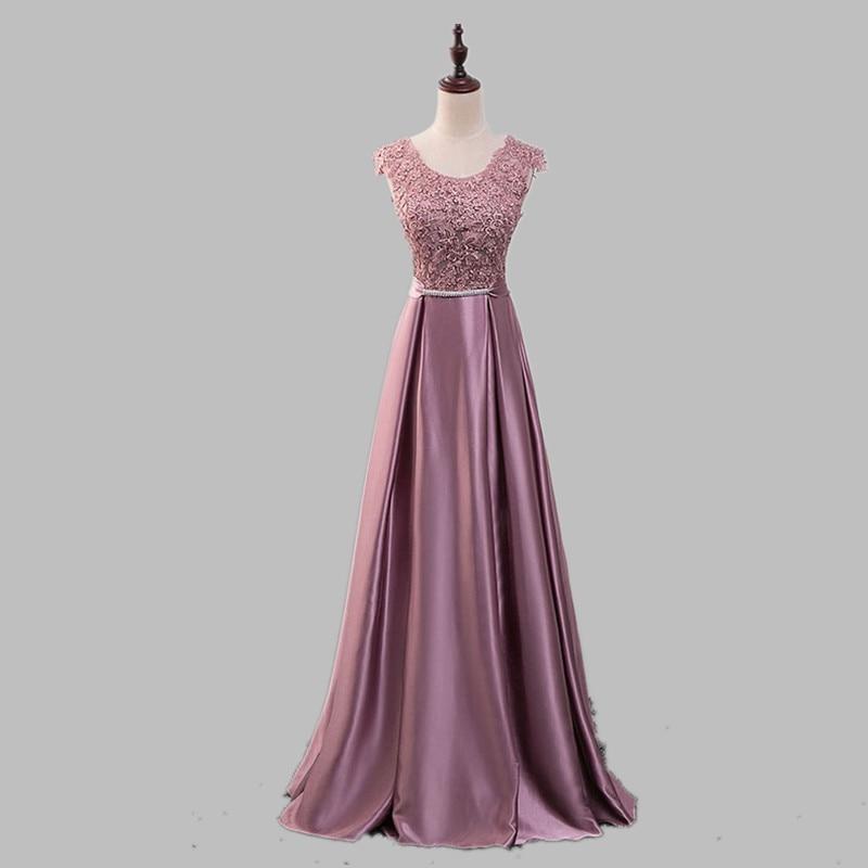 Robe De Soiree 2019 spets ärmlös av axelklänningen - Särskilda tillfällen klänningar - Foto 4