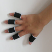 Finger Stall Sleeve Protector Protection Gloves