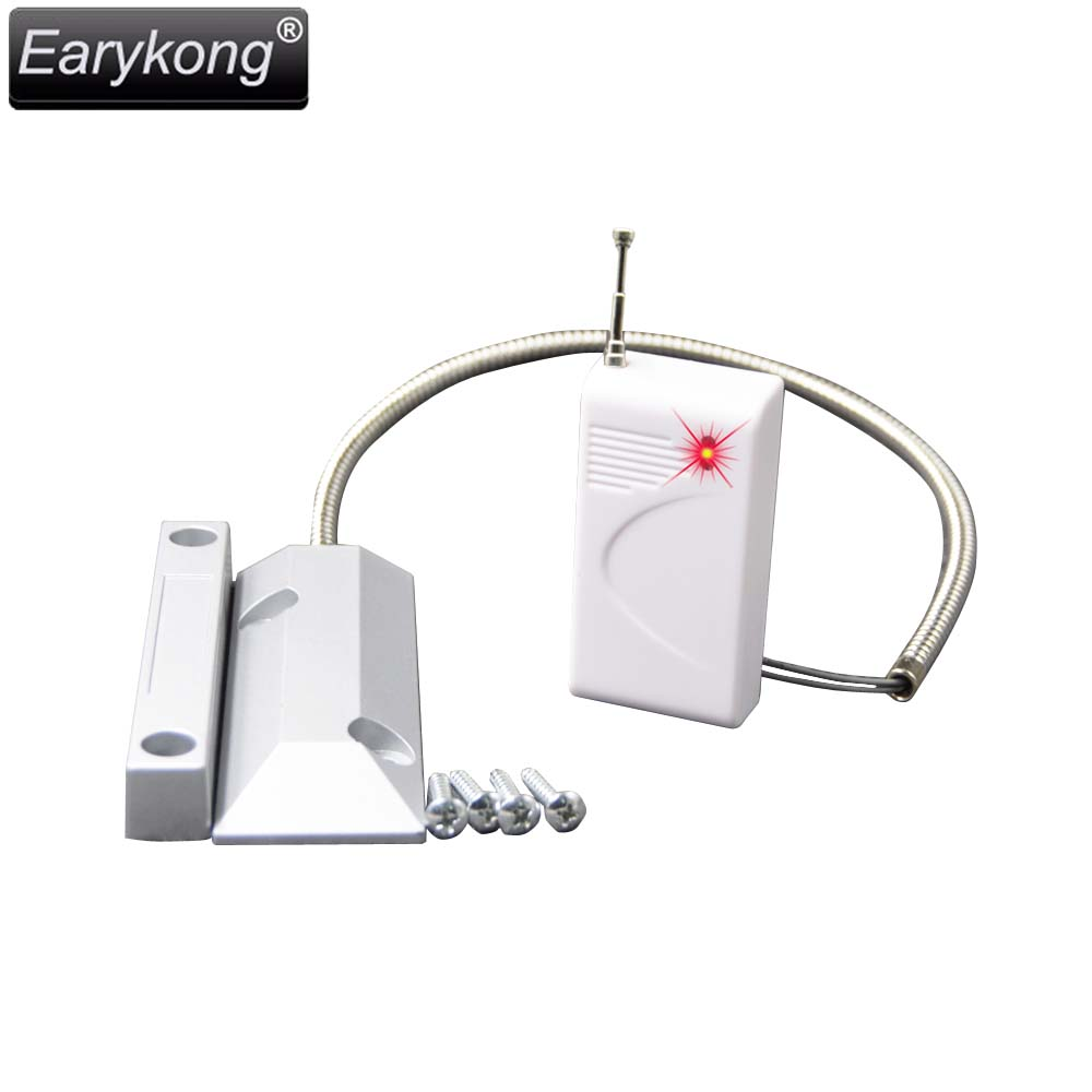 Free Shipping, Metal Door Open Detector ,WIreless 433MHz, you can install it in your garage free shipping  metal garage door open