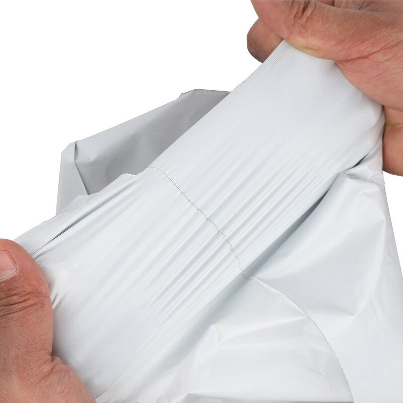 도매 화이트 50*70 cm 대형 셀프 인감 메일 링 폴 리 메일러 가방 플라스틱 봉투 택배 파괴적인 우편 메일 링 가방-에서선물가방&포장용품부터 홈 & 가든 의  그룹 3