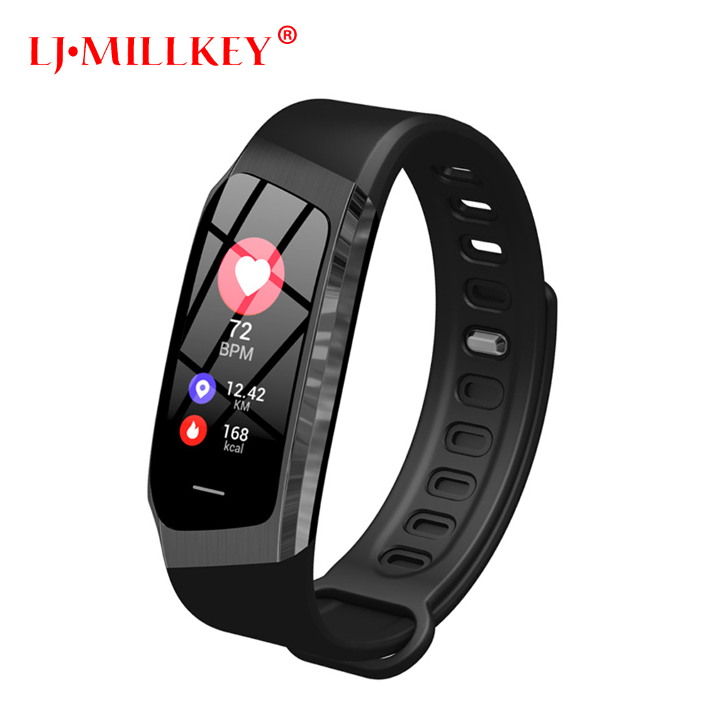 2019 Smart Band Color Touch Screen Blood Pressure Heart Rate Monitor Sport Bracelet IP67 Waterproof Fitness Tracker Wristband2019 Smart Band Color Touch Screen Blood Pressure Heart Rate Monitor Sport Bracelet IP67 Waterproof Fitness Tracker Wristband