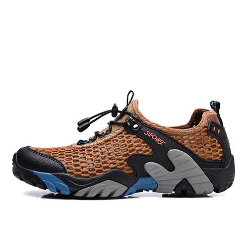2019 Outdoor Summer Men's Aqua Zapatos Climbing Shoes Trekking Senderismo Upstream Walking Water Quick Drying Sneaker Shoes