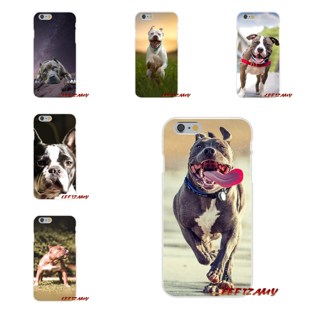 Аксессуары телефон оболочки чехлы для Motorola Moto G LG Spirit G2 G3 мини G4 G5 K4 K7 K8 K10 V10 v20 V30 Pitbull Питбуль Собака