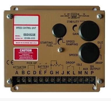 Free Shipping ESD5522E SPEED CONTROL UNIT Generator accessories speed controller governor speed control board free shipping deep sea generator set controller module p5110 generator control panel replace dse5110