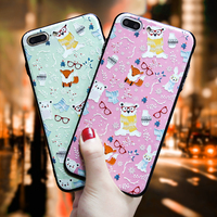CITY CASE 7 7Plus Animals PC Case For Iphone 7 South Korea Trend Hard Back Phone