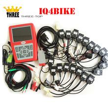 Top selling iQ4bike Diagnostics for Motorcycles motorcycle Professional Universal Motobike Scan Tool DHL with free dhl shipping