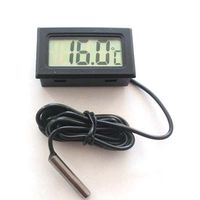 50 70 Celsius Digital Refrigerated Cabinets Thermometer Freezer Temperature Meter With LCD Display