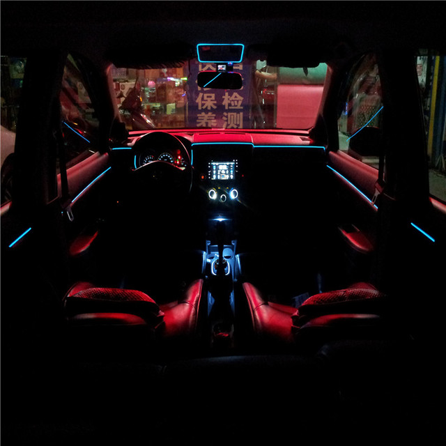 JingXiangFeng 3meter with Drive 10 color 12V EL INTERIOR AMBIENT LIGHTING Case for Alfa Romeo Brera  sc 1 st  AliExpress.com & JingXiangFeng 3meter with Drive 10 color 12V EL INTERIOR AMBIENT ...